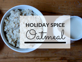 Holiday Spice Oatmeal
