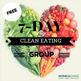 Monica Gibbs Free 7 Day Clean Eating Group