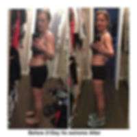 Monica Gibbs Beachbody 21 Day Fix Extreme before and after