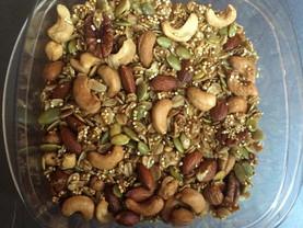 Quinoa Granola and Greek Yogurt