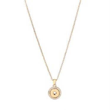 GOLD BLING PENDANT NECKLACE