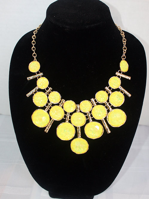 3-Row Necklace Earring Set