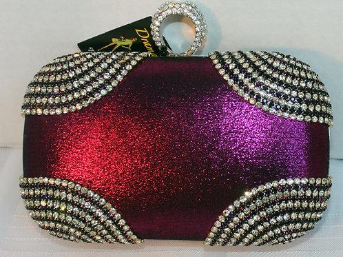Purple Evening Bag