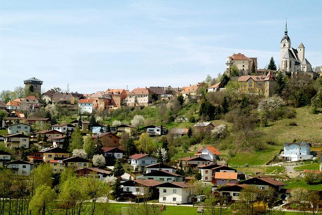 Althofen Village in Carinthia, Austria.j