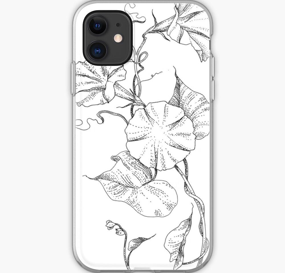 mourning glory phone case