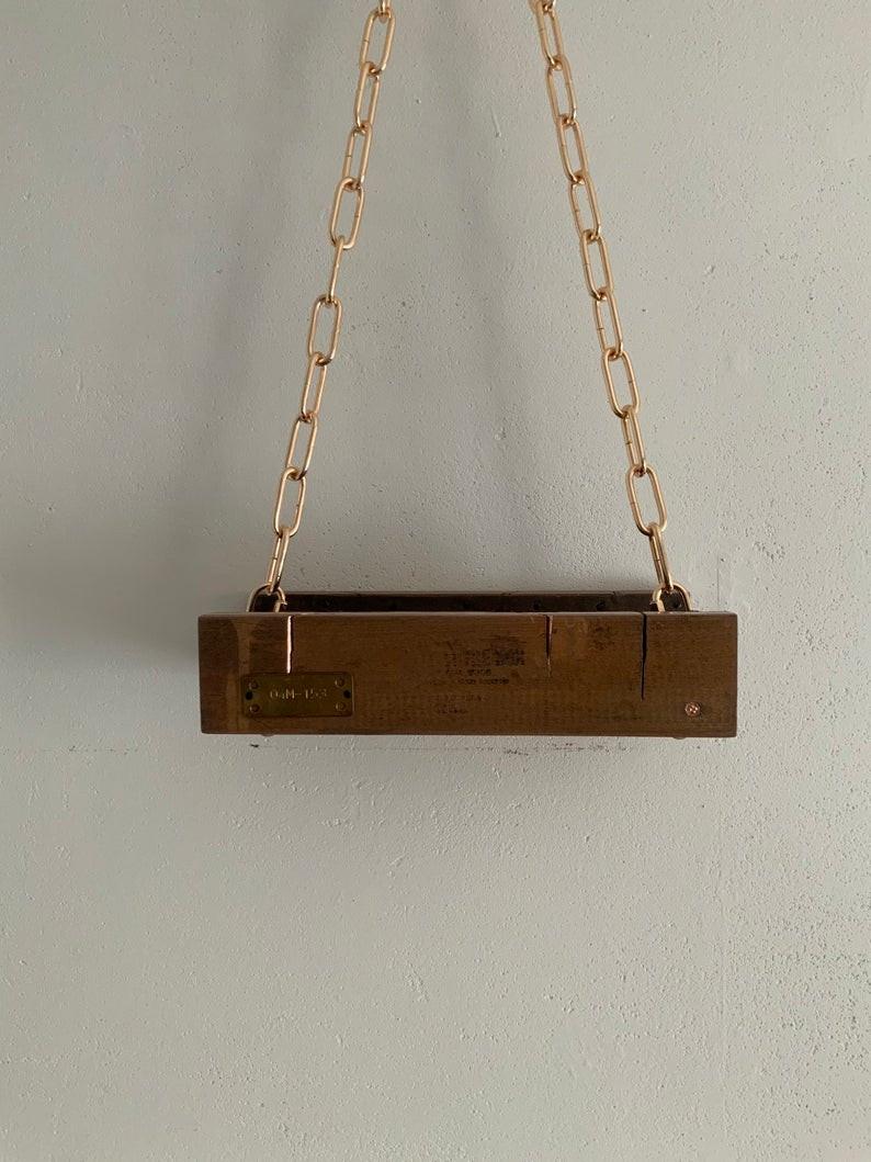 mitre box shelf