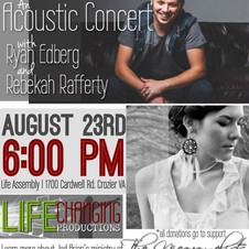August 23 at 6_00 pm Life Assembly.  Reb