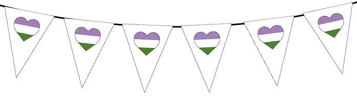 Pride Heart-Genderqueer