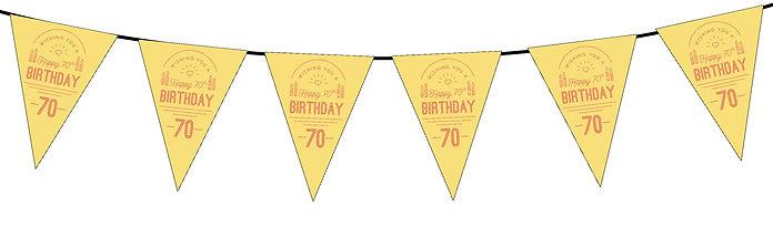 Wishing You a Happy 70th Yellow