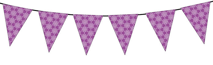 Floral Pattern-purple