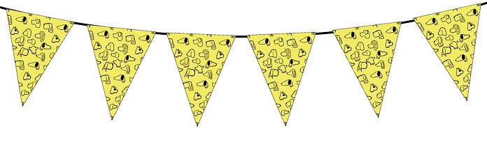 Dog Pattern Yellow