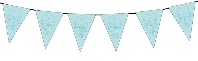 Wishing You a Happy 70th Blue