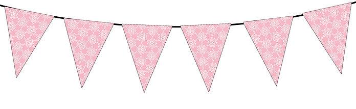 Floral Pattern- Light Pink