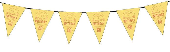 Wishing You a Happy 50th Yellow