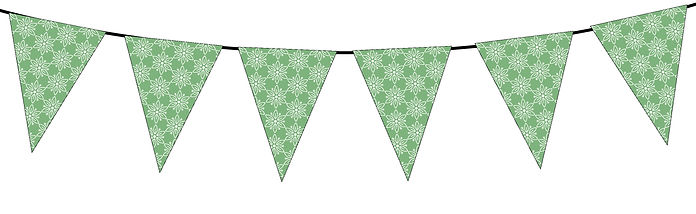 Floral Pattern-green