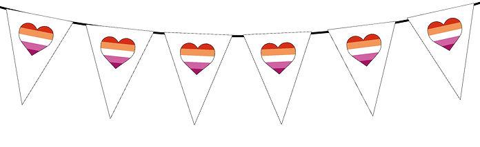 Pride Heart-Lesbian