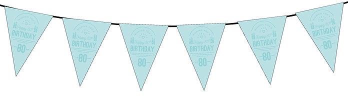 Wishing You a Happy 80th Blue