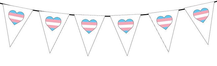 Pride Heart-Transgender