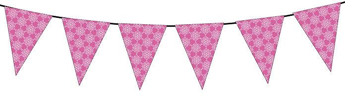Floral Pattern-dark pink