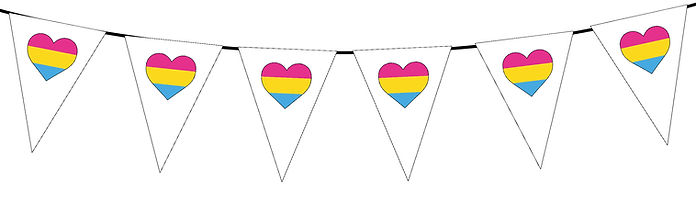 Pride Heart-Pansexual
