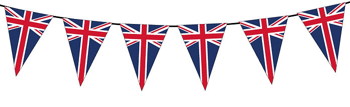 Small Triangle Bunting Flag of UK
