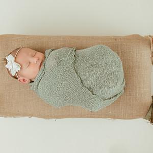 Nora's Newborn Pictures