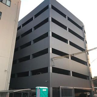 大阪府松原市立体駐車場及び社屋看板改修工事