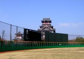 京都市伏見区伏見桃山城運動公園野球場バックスクリーン改修工事