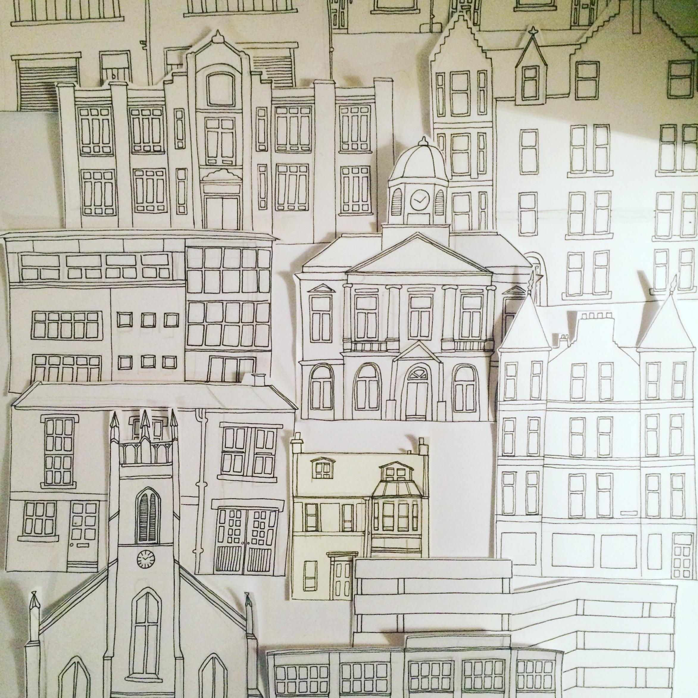Edinburgh doodles