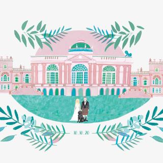 Wedding Venue/Invite Design