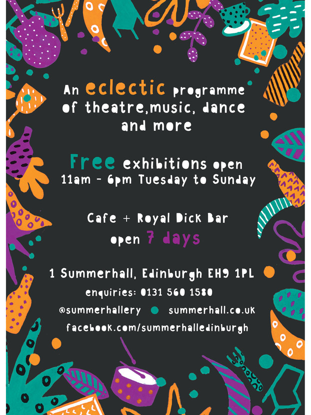Summerhall Flyer 2018 side 2