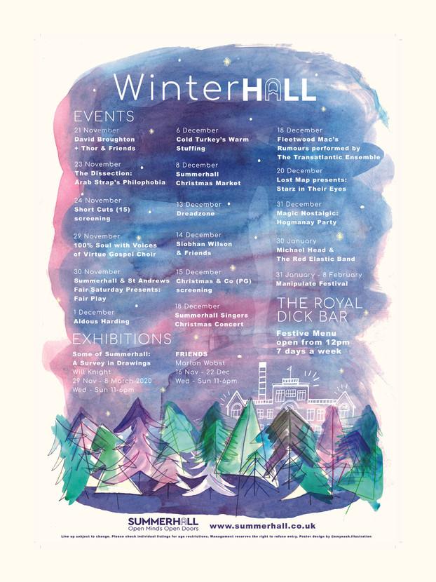 Winterhall 2019 Listings Poster