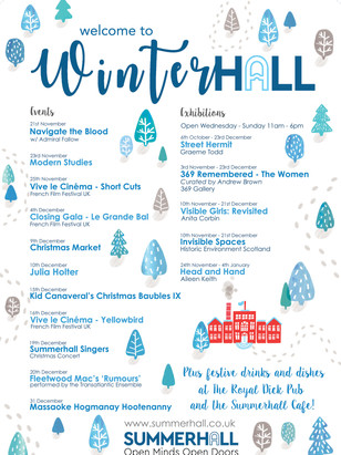 Winterhall 2018 Listings Poster