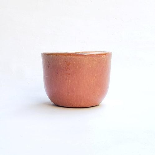 Cachepot Cerâmica Esmaltada Morumby 1 Laranja