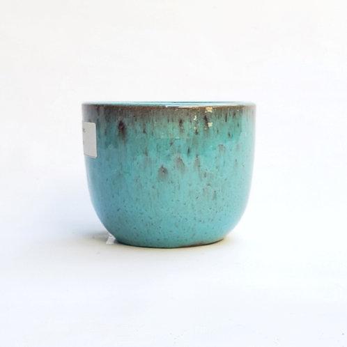 Cachepot Cerâmica Esmaltada Morumby 1 Musgo