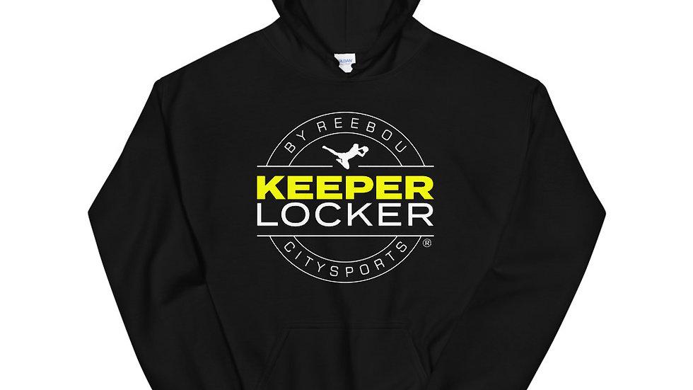 Keeper Locker Unisex Hoodie (Black)