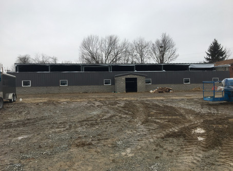 Hall Construction Update - February 2018