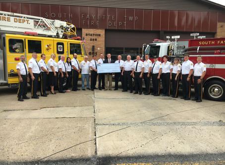 Congressman Tim Murphy Presents FEMA Grant Award to Oak Ridge VFD and South Fayette VFD