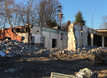 Hall Demolition Underway!