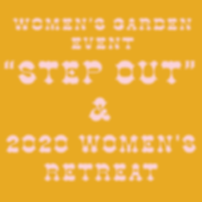 Women's Garden Event and Retreat Save th