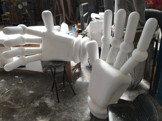 Large Robot Hands