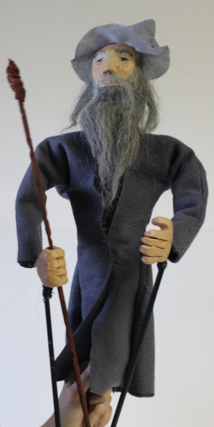 Gandalf Rod Puppet