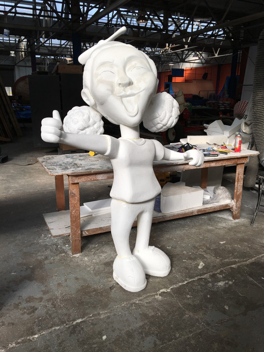 Girl Scuplture