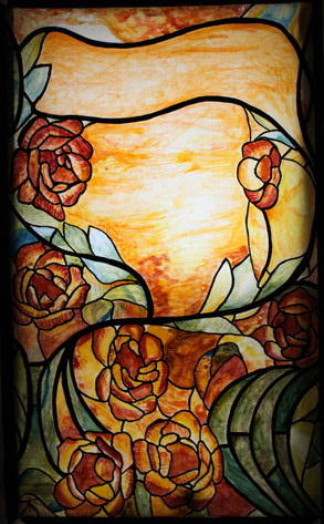 Backlit Stain Glass