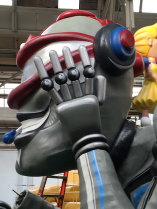 Large Robot Hands Completed