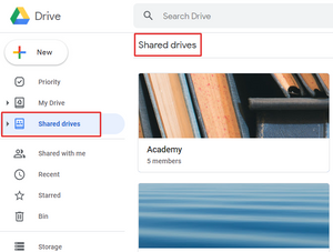 "Google Drive users will now see ""Team Drives"" to ""Shared Drives"""
