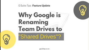 """Why Google is Renaming Team Drives to """"Shared Drives""""?"""