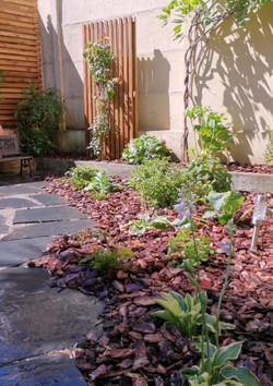 Création d'un jardin d'echoppe