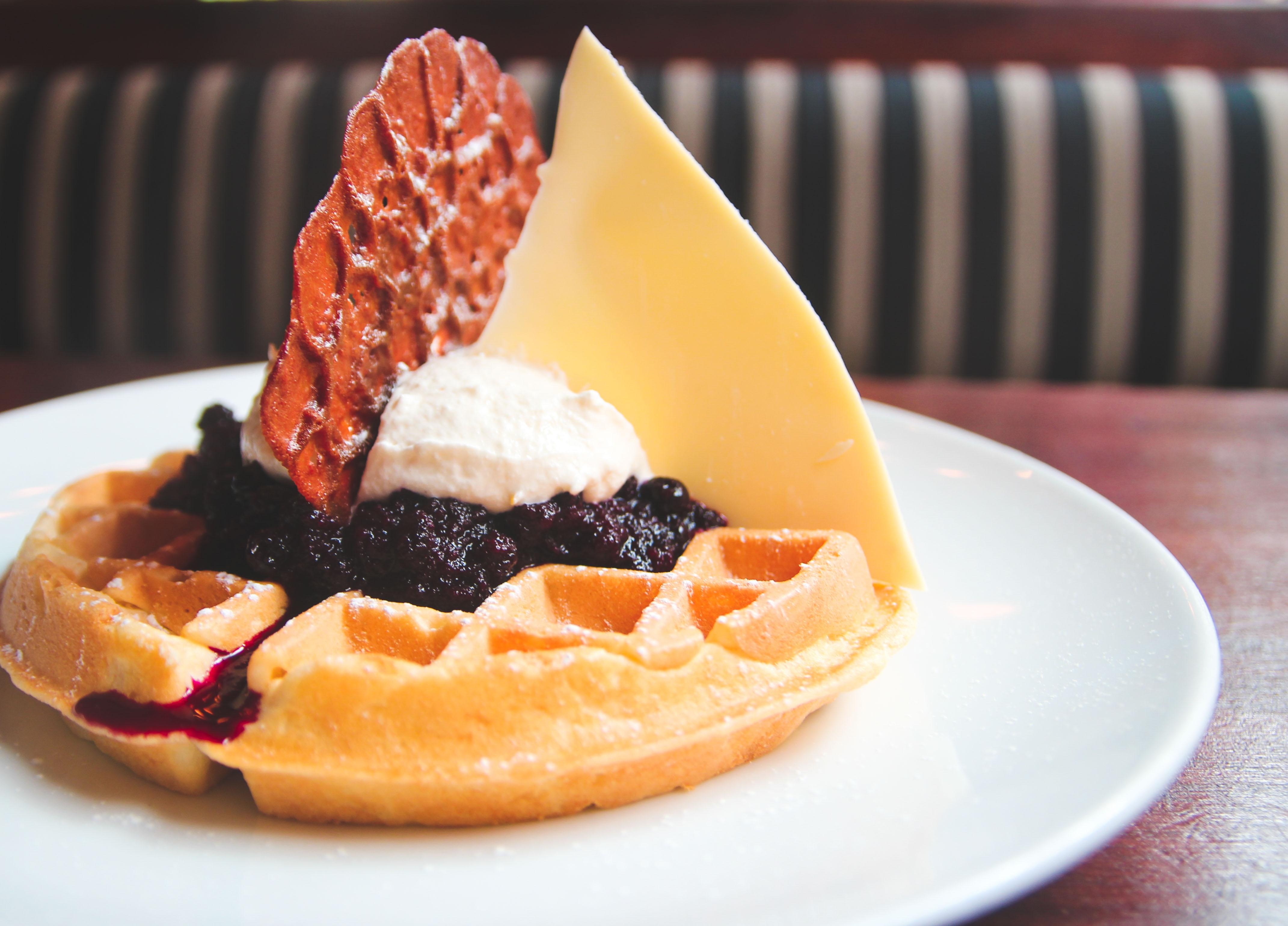 Blueberry Lemon Waffle
