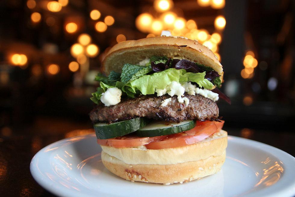 Lamb Burger, Pub Food